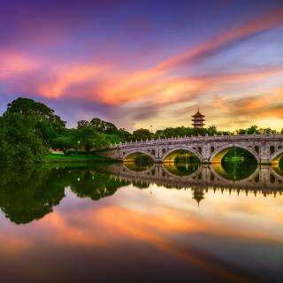 Chinese Garden Singapore - Obrázkek zdarma pro iPad Air