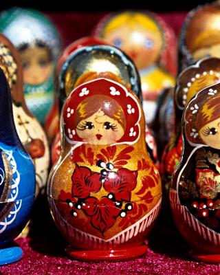 Matryoshka   Russian Dolls - Obrázkek zdarma pro Nokia Lumia 610