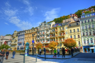 Karlovy Vary - Carlsbad Wallpaper for Android, iPhone and iPad