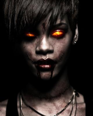 Rihanna Zombie - Obrázkek zdarma pro 176x220