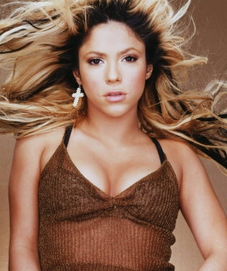 Dancing Shakira - Obrázkek zdarma pro 128x160