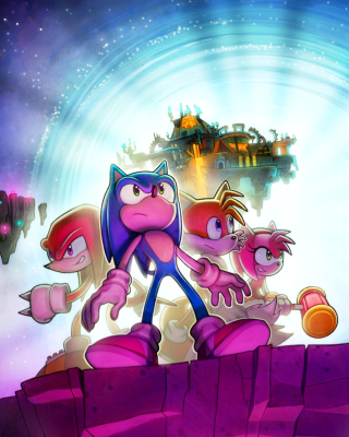 Sonic Friends - Obrázkek zdarma pro iPhone 6 Plus