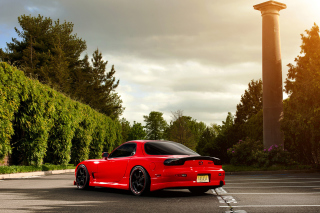 Mazda RX-7 Background for Android, iPhone and iPad