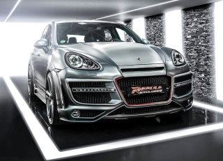 Porsche Cayenne Tuning Background for Android, iPhone and iPad