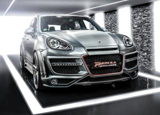 Porsche Cayenne Tuning papel de parede para celular