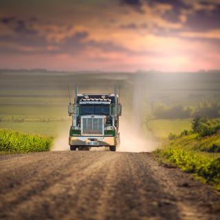 American Truck - Obrázkek zdarma pro iPad mini