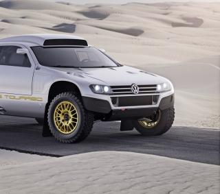 VW Race Touareg - Obrázkek zdarma pro iPad mini 2