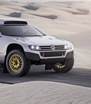 VW Race Touareg - Obrázkek zdarma pro Nokia X3