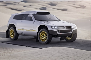 VW Race Touareg Background for Android, iPhone and iPad