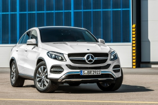Mercedes Benz GLE 450 AMG Sport Coupe Wallpaper for Android, iPhone and iPad