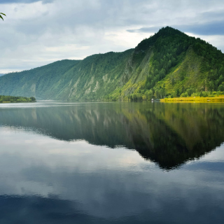 Lake HDR - Obrázkek zdarma pro iPad mini
