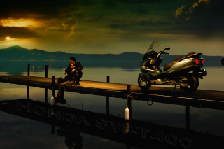 Free Honda SW-T 40 Scooter Picture for Android, iPhone and iPad