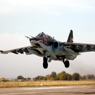Sukhoi Su 25 Frogfoot Ground Attack Aircraft - Obrázkek zdarma pro iPad mini 2