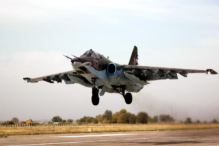 Sukhoi Su 25 Frogfoot Ground Attack Aircraft wallpaper