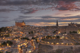Toledo, Spain Background for Android, iPhone and iPad