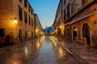 Stradun street in Dubrovnik, Croatia Wallpaper for Android, iPhone and iPad