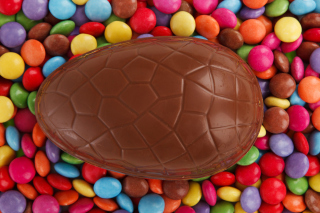 Easter Chocolate Egg Wallpaper for Android, iPhone and iPad