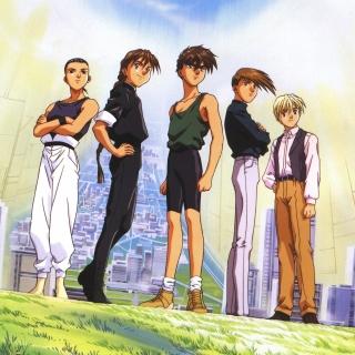 Quatre Gundam Pilots - Obrázkek zdarma pro 2048x2048