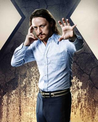 James McAvoy As Charles Xavier - Obrázkek zdarma pro 352x416