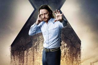 James McAvoy As Charles Xavier - Obrázkek zdarma pro Nokia Asha 200
