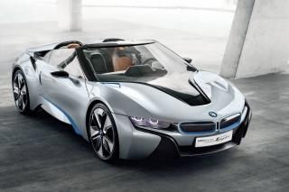 BMW i8 Hybrid Coupe - Obrázkek zdarma pro Samsung Google Nexus S 4G