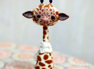 Giraffe Background for Android, iPhone and iPad