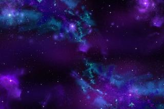 Starry Purple Night - Obrázkek zdarma pro LG Nexus 5