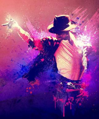 Michael Jackson Art - Obrázkek zdarma pro Nokia Asha 309