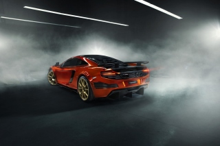 McLaren 12C Background for Android, iPhone and iPad