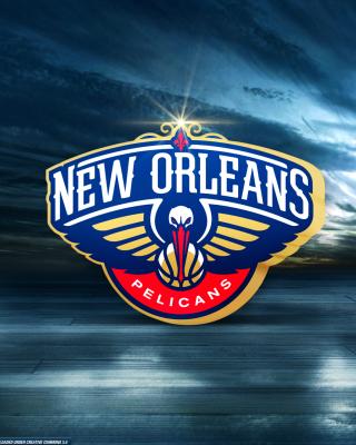 New Orleans Pelicans Logo - Obrázkek zdarma pro Nokia Asha 306