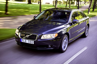 Volvo S80 Background for Android, iPhone and iPad