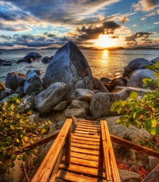 Caribbean Sea - Obrázkek zdarma pro Nokia Asha 501