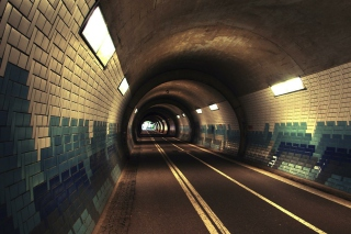 Tunnel Background for Android, iPhone and iPad