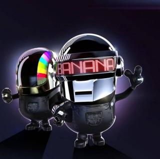 Daft Punk - Obrázkek zdarma pro iPad mini
