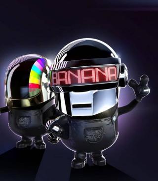 Daft Punk - Obrázkek zdarma pro Nokia Asha 308