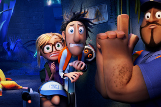 Cloudy with a Chance of Meatballs 2 Background for Android, iPhone and iPad