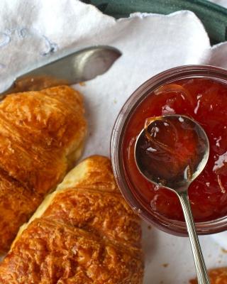 Croissants and Jam - Obrázkek zdarma pro iPhone 4