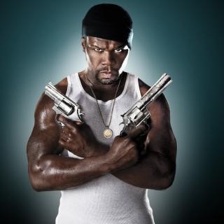 50 Cent Rapper - Obrázkek zdarma pro iPad mini 2