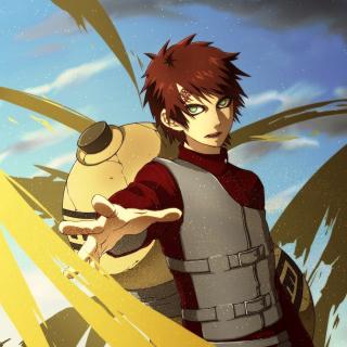 Gaara Kazekage Naruto - Obrázkek zdarma pro iPad 2