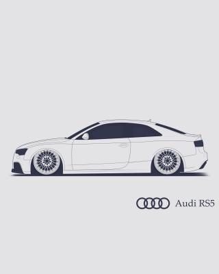 Audi RS 5 Advertising - Obrázkek zdarma pro 360x400
