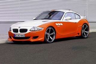 BMW Z4 M Coupe - Obrázkek zdarma pro Desktop 1280x720 HDTV