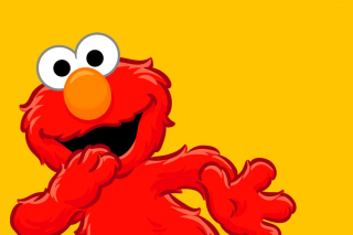 Elmo Muppet Picture for Android, iPhone and iPad