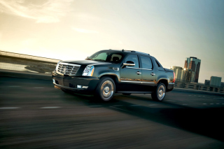 Cadillac Escalade EXT Pickup Truck Background for Android, iPhone and iPad