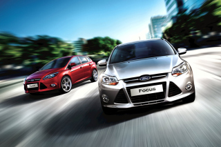 Auto Ford Focus Background for Android, iPhone and iPad