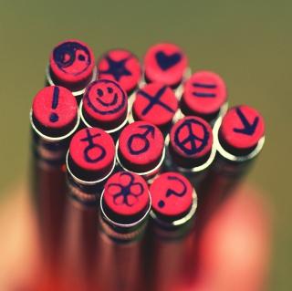 Erasers - Obrázkek zdarma pro 320x320