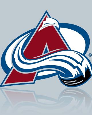 Colorado Avalanche Grey Logo - Obrázkek zdarma pro iPhone 5
