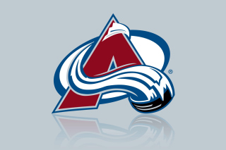 Colorado Avalanche Grey Logo Wallpaper for Android, iPhone and iPad