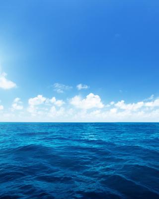 Ocean in Tropics - Obrázkek zdarma pro 320x480