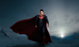 Superman In Man Of Steel Wallpaper for Android, iPhone and iPad