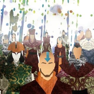 Avatar The legend of Korra - Obrázkek zdarma pro iPad